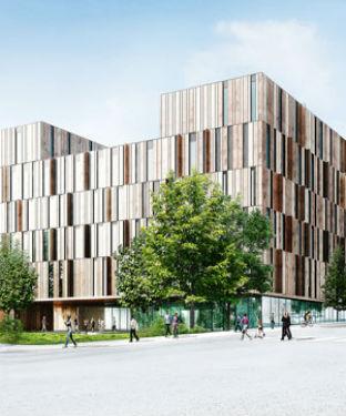 Helsingborgs blivande sjukhus klar