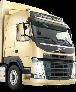 Volvo lastbil klar