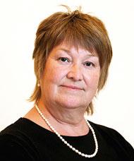 Christina Eljansbo, chef inom handikappomsorg, Köping