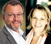 Bjarte Bugge, Usify, och Pernilla Norman, Lindskog Malmström Advokatbyrå.